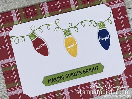 Just in CASE Making Christmas Bright stamp set by Stampin Up www.stampstodiefor.com