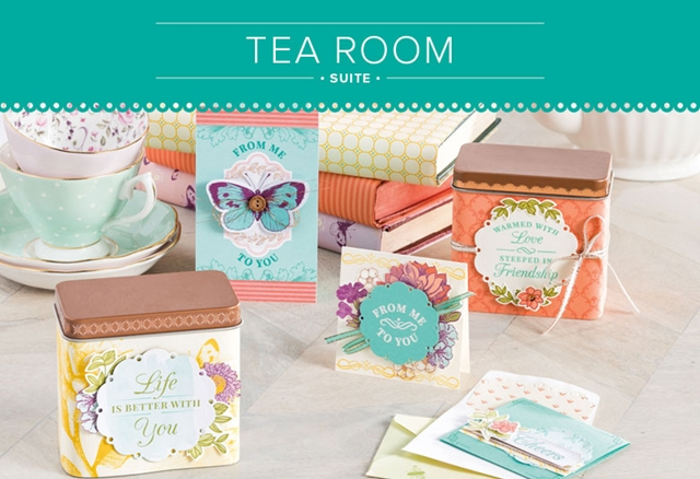 Tea Room Suite by Stampin' Up!
