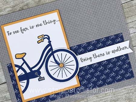 Sunday Sketches SS045 card sketch or template using Bike Ride stamp set and framelits by Stampin' Up! www.stampstodiefor.com diag
