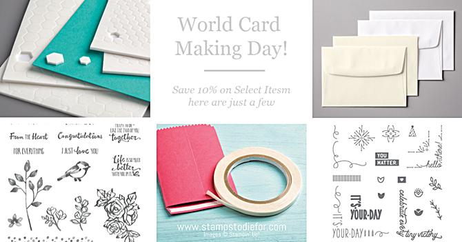World card making day 2018