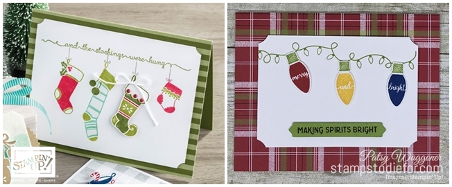 Just in CASE Making Christmas Bright stamp set by Stampin Up www.stampstodiefor.com tiled