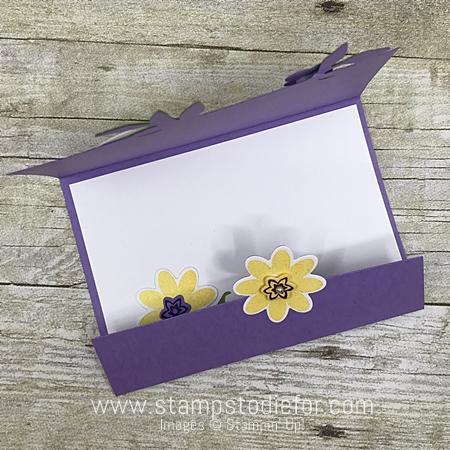 Bouquet Blooms Stamp Set and Gatefuld Blossoms Framelits Dies by Stampin' Up! www.stampstodiefor.com toop