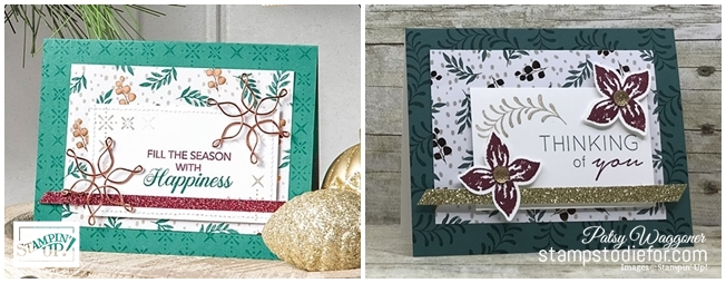 Just in CASE Pop of Petals stamp set and Joyous Noel Paper by Stampin Up www.stampstodiefor.com paired