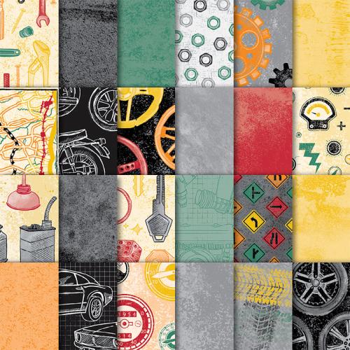 Classic Garage Designer Series Paper One Sheet Wonder Choice #loveitchopit