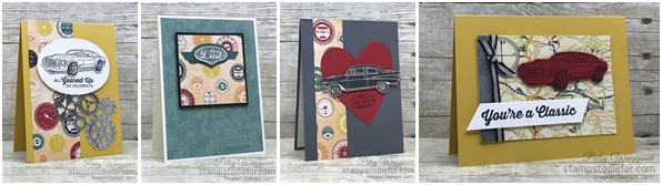 Card created using piece A One Sheet Wonder Classic Gear Designer Paper by Stampin' Up!  #loveitchopit #simplestamping slant (2)-horz