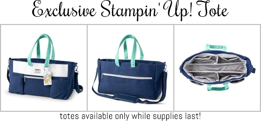 Exclusive Stampin' Up! Tote