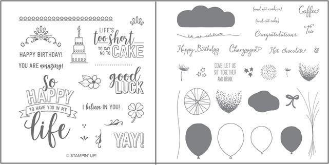 Amazing Life & Balloon Celebration Stamp Sets