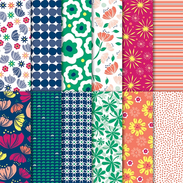 Happiness blooms designer series paper