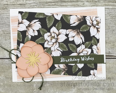 Just in CASE Magnolia Memory dies by Stampin 'Up! pg 9 a