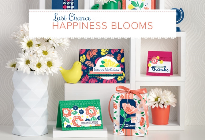 Happiness blooms last chance