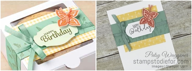 Just in CASE series Pop of Petals by Stampin' Up! pg 16 tile