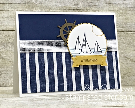 Sunday Sketches SS037 Sail Home stamp set by Stampin' Up!