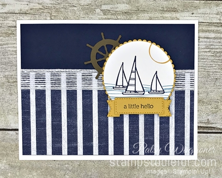 Sunday Sketches SS037 Sail Home stamp set by Stampin' Up! a