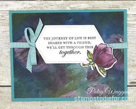 One Sheet Wonder OSW #loveitchopit Piece A Perennial Essence Designer Series Paper  by Stampin' Up! a