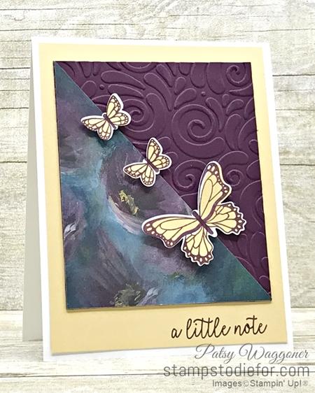 One Sheet Wonder OSW #loveitchopit Piece G Perennial Essence Designer Series Paper  by Stampin' Up!