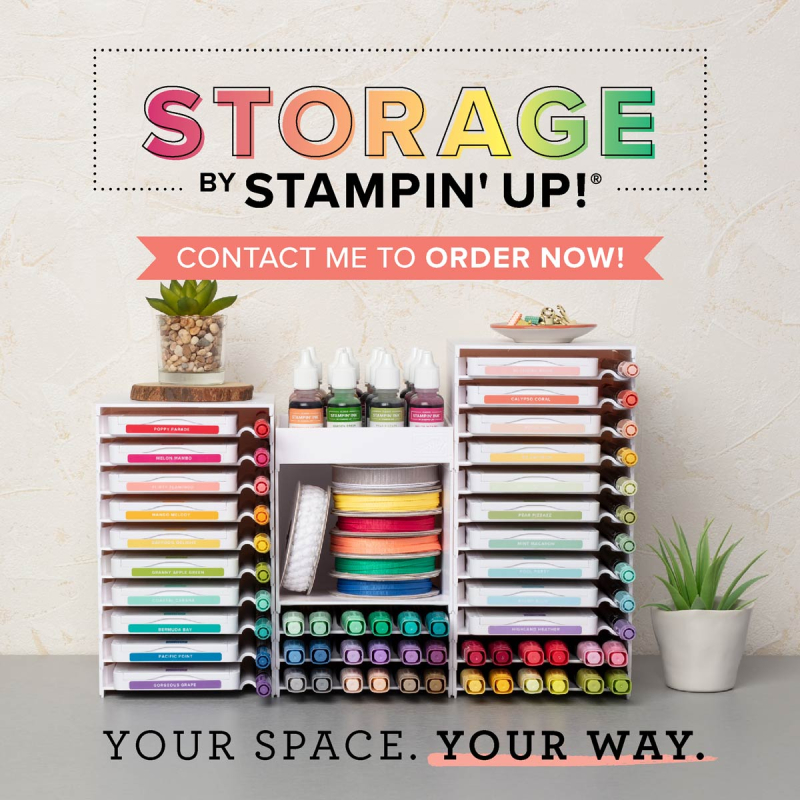 Stampin' Up! Storage and Organization