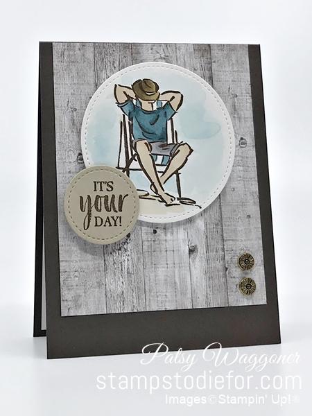 Card Sketch SS047 A Good Man stamp set