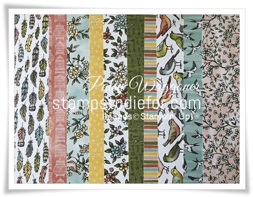 Bird Ballad Designer Series Paper Share