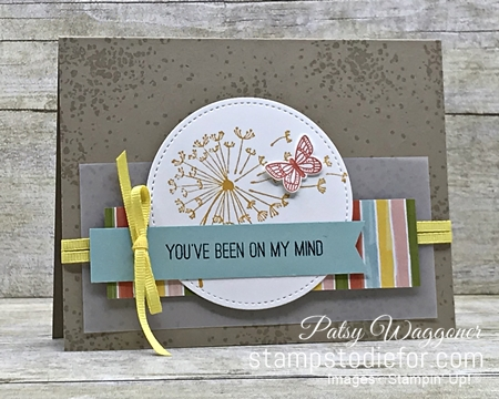 Just in Case series Dandoline Wishes and Butterfly Gala stamp sets by Stampin' Up! pg 12