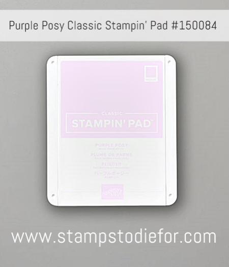 Purple Posy Ink Pad By Stampin Up