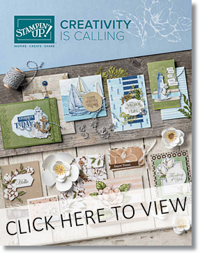 2019 Stampin Up Annual Catalog