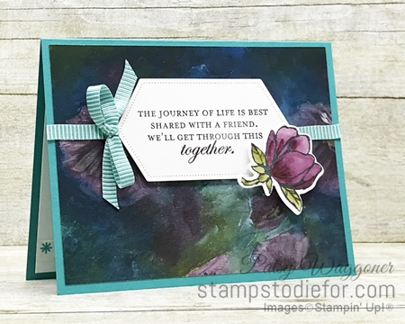 One Sheet Wonder OSW #loveitchopit Piece A Perennial Essence Designer Series Paper  by Stampin' Up!