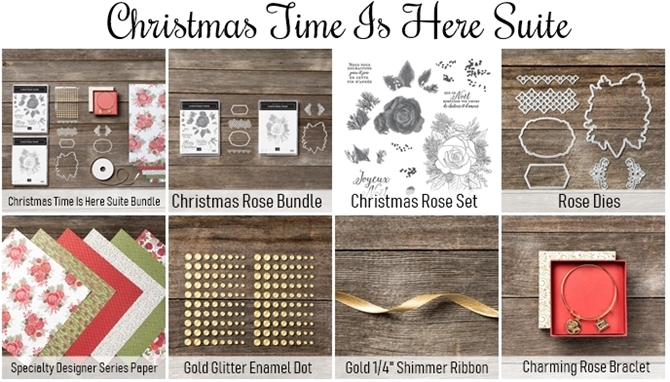 Christmas Time is Here Suite of Products
