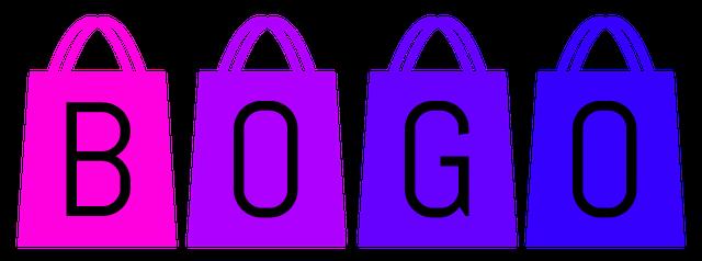 Shopping bags bogo