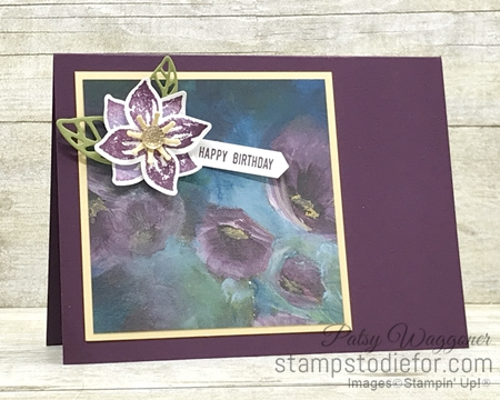 One Sheet Wonder OSW #loveitchopit Piece E Perennial Essence Designer Series Paper  by Stampin' Up!