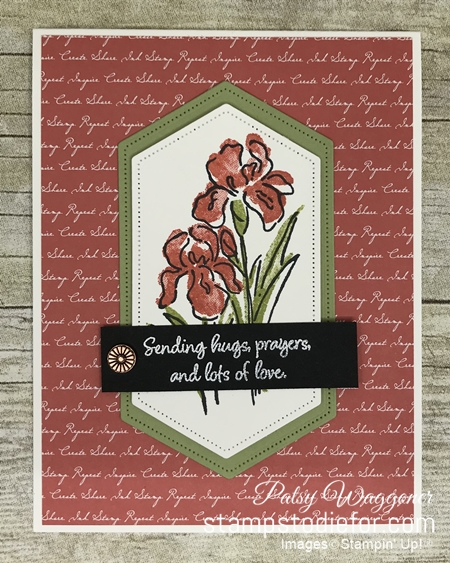Sunday Sketches SS043 card created with sketch a