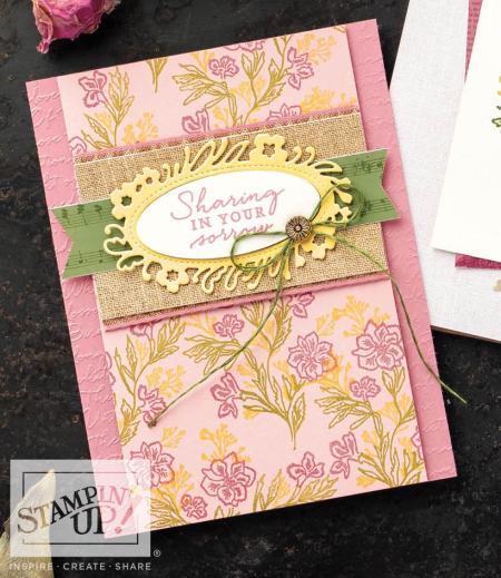 Path of Petals Stamp Set by Stampin' Up!