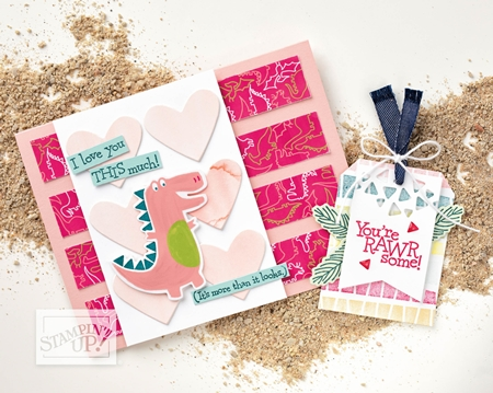 Dino Roar Bundle by Stampin' Up!