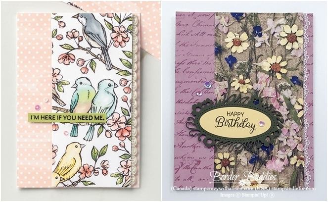 Just in CASE card from page 15 Annual Stampin Up Catalog horz