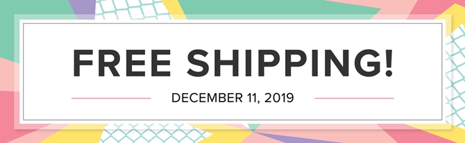 Stampin' Up! Free Shipping graphic