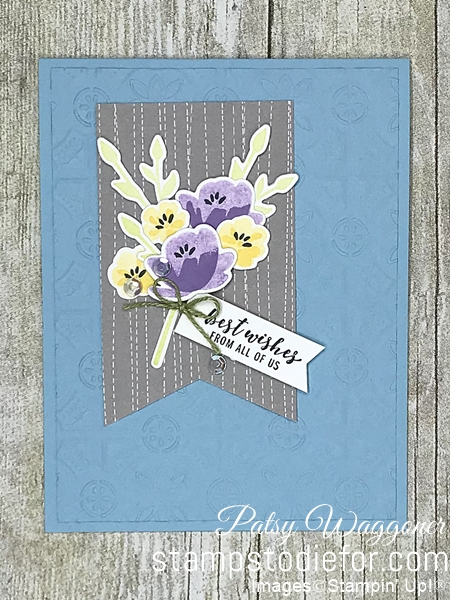 Card CASE using sample on page 55 2019 Occasions Catalog using Jar of Love stamp set #stampinup #CASE