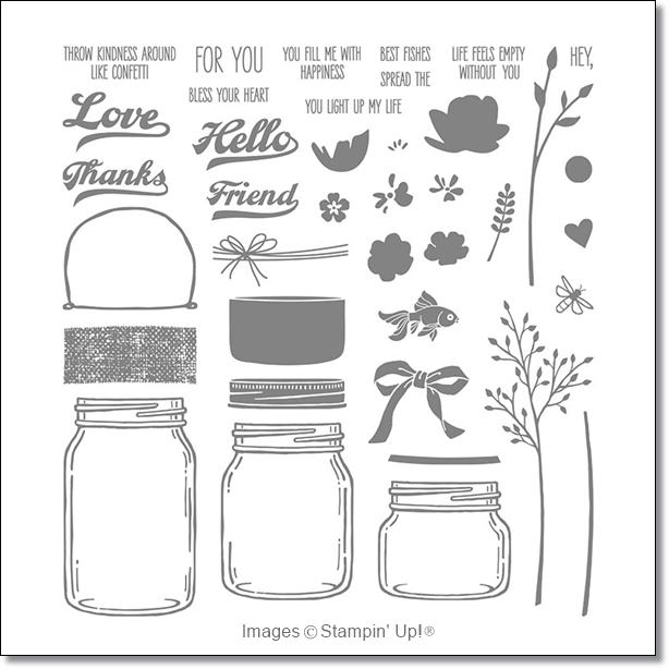 Jar of Love stamp set by stampin up