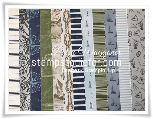 Come sail away designer series paper share