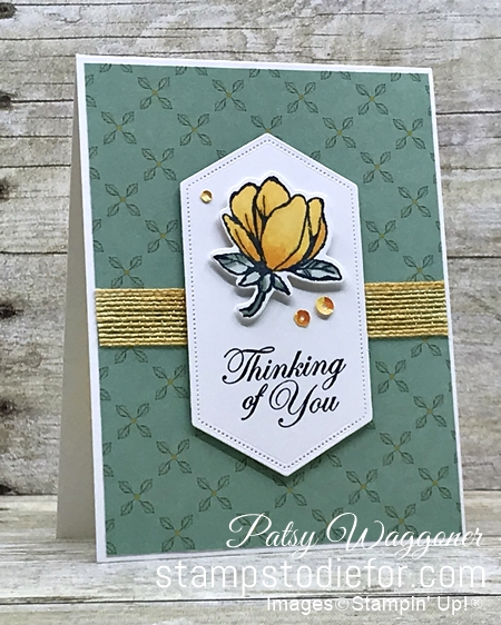 One Sheet Wonder OSW #loveitchopit Piece A Magnolia Lane Suite by Stampin' Up!
