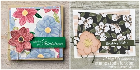Just in CASE Magnolia Memory dies by Stampin 'Up! pg 9 tile