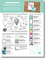 Stampin up starter kit