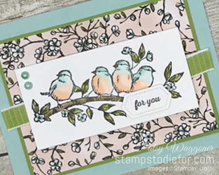 Sunday Sketches SS042 Free as a Bird stamp set by Stampin' Up! ab