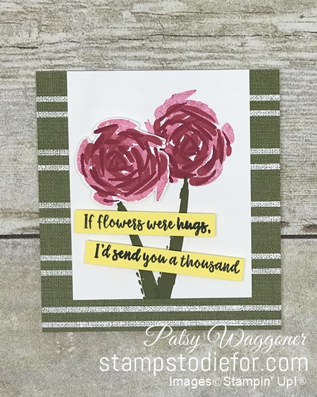 Just in CASE series pg 17 Abstract Impessions by Stampin' Up! a