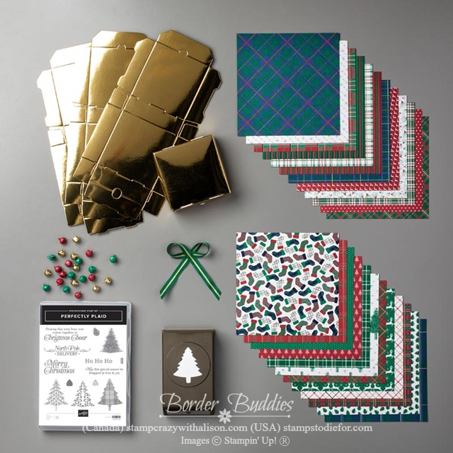 Wrapped in Plaid Suite of Products by Stampin' Up!