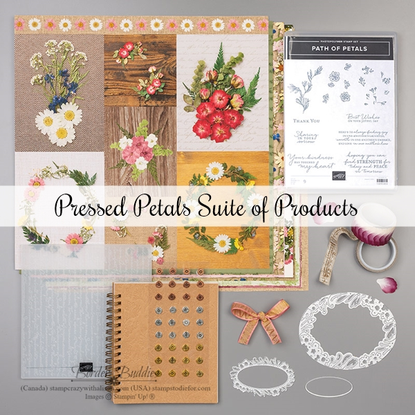 Pressed Petal Suite of Products by Stampin' Up!