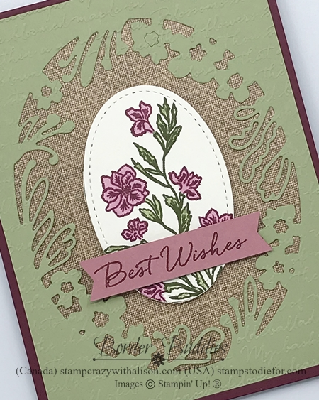 Pressed Petals Suite of Products by Stampin' Up!