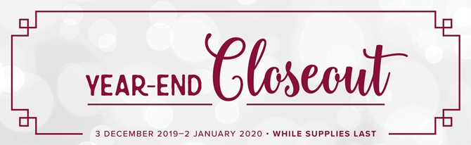 Year End Closeout event