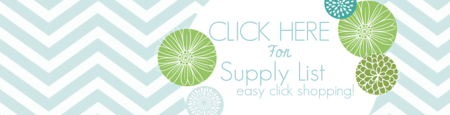 Stampin' Up! Easy Click Shopping and Supply List