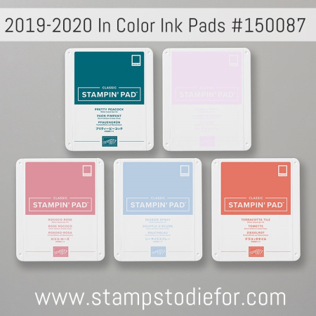 2019-2020 Stampin Up In Colors