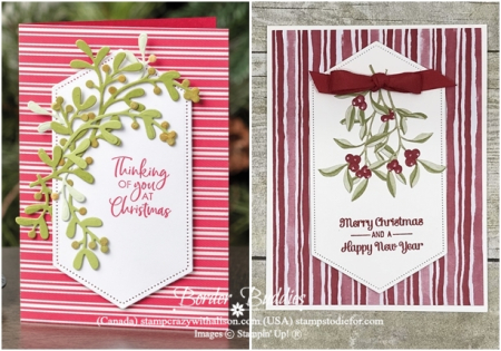 Most Wonderful Time Product Medley by Stampin' Up! just in CASE Card