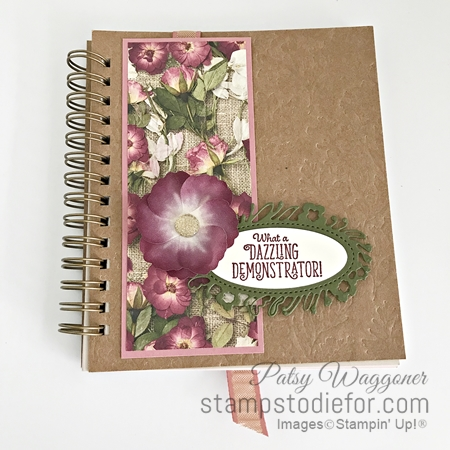Pressed Petals Note Book Team Gift